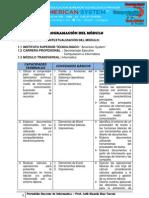 Modulo Transversal Informatica 2013