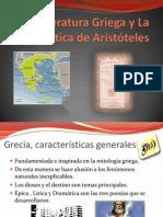 Literatura Griega y La Poética de Aristóteles