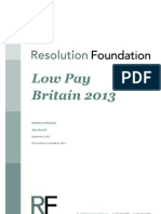 Low Pay Britain 2013