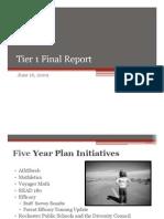 Tier 1 Report