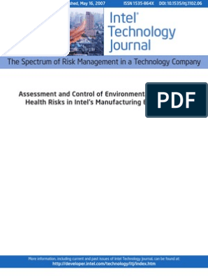 Intel Technology Journal