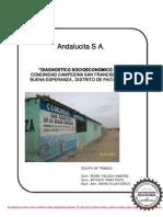 Diagnostico  SocioEconómico Comunidad Campesina San Francisco de la Buena Esperanza - Paita