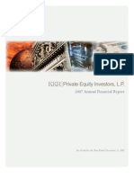 KKR Private Equity Investors, L.P. Annual Report 2007