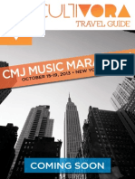 Cultivora's Guide to CMJ