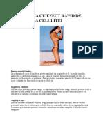 Gimnastica Cu Efect Rapid de Reducere a Celulitei