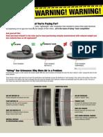 Raybestos Rotor Warning