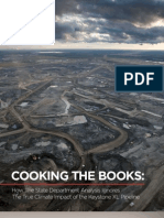 Keystone XL Pipeline Cooking the Book