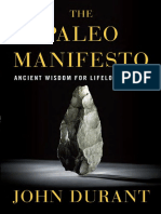 The Paleo Manifesto by John Durant - Excerpt