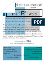 The R Word
