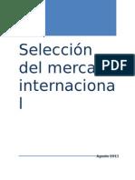 Seleccion de Mercado Internacional