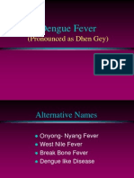 Dengu Fever-Simple by Dr Sarma