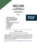English 3 Survival Guide