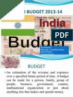 Union Budget 2013-14 New