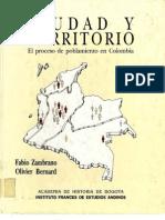 Ciudad Territorio Proceso-Zambrano F-1993