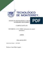 Investigación sobre ANFIS
