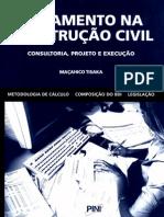 Orçamento na Construção Civil - Maçahico Tisaka