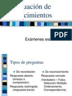 Catro C Evaluacion Examenes Escritos 2008