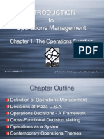 Chapter 1, The Operations Function
