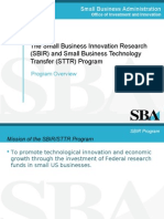SBIR Program Overview