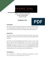 ghaNOZ 2480 - Pengantar Java
