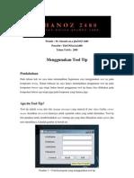 ghaNOZ 2480 - Menggunakan Tool Tip