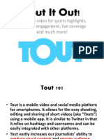 Tout Training for MIPrepZone/Sports