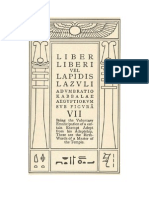 2309250 Aleister Crowley Liber Vii Vel Lapidis Lazvli Espanol 120706142706 Phpapp02