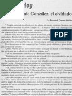 Ayer y Hoy-Pedro Antonio Gonzalez El Olvidado