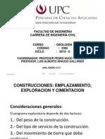 Construcciones Upc Geologia