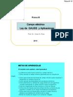 F3-Cap2-Campo Ley de Gauss