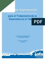Guía de intervención para el tratamiento de la cesación al tabaco