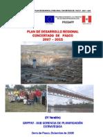 Plande Desarrollo Regional de Pasco