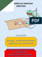 5. Anestesia
