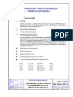 Norma Chilectra 2, TFs Aereos Con Proteccion Termica