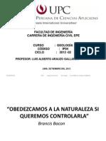 CAPITULO VII Investigación subterranea Geología UPC