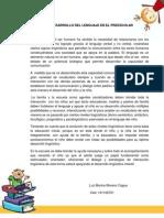EL DESARROLLO DEL LENGUAJE EN EL PREESCOLAR (1).docx