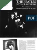 Recording Sessions. The Beatles (Mark Lewisohn) [2006]
