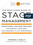 The Back Stage Guide to Stage Management - Excerpt