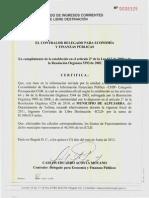 Certificacion Ley 617 CGR - Municipio de Alpujarra