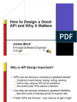 How to Design Good API and Why Does It Matter