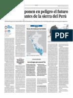 Las heladas ponen en peligro el futuro de los habitantes de la sierra del Perú - Diether Beuermann/Alan Sánchez - El Comercio - 310813