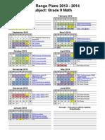 2013-2014 math 9 year plans web