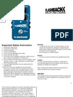 Tc Electronic Flashback Delay Manual English