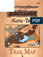 Tsr09402 - AD&D Accessory - FR-KT - Kara Tur Trail Map