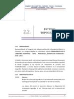 2.2 Estudio Topografico - Carretera