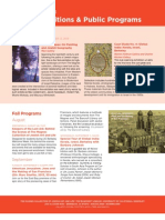 Public Programs at The Magnes Fall 2013