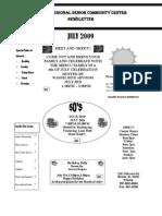MRSCC July 2009 Newsletter