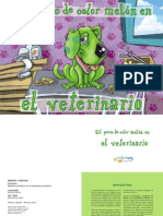 El Perro de Color Melon en El Veterinario