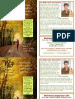 W3 September Flyer