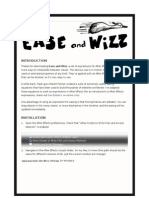 Ease and Wizz 2.0.3 Read Me